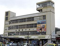 あまちゃん 久慈駅西口の駅前ビルを撤去
