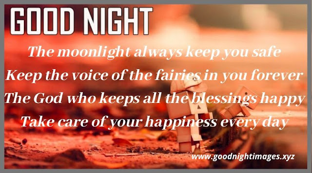 Good Night Wishes Images | goodnight message