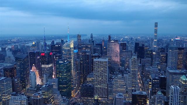 نيويورك الجميلة ليلا