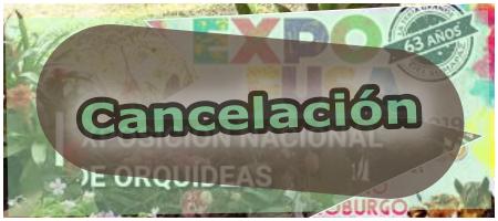 La Exposición Nacional de Orquídeas y Expofusa 2021 fueron cancelados