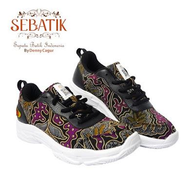 Sepatu Batik Denny Cagur
