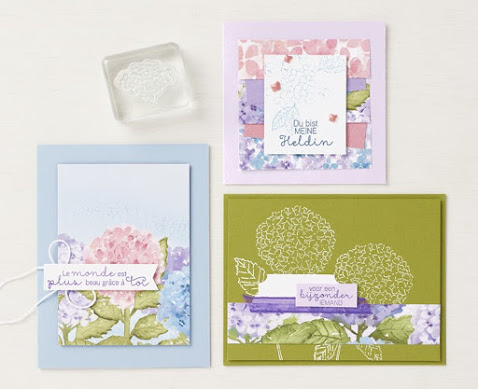 11 Stampin' Up! Hydrangea Hill Suite Projects ~ January-June 2021 Mini Catalog #stampinup