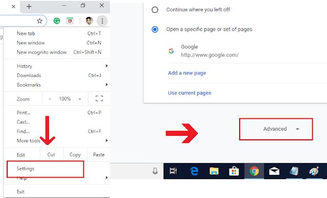Advance Chrome Settings