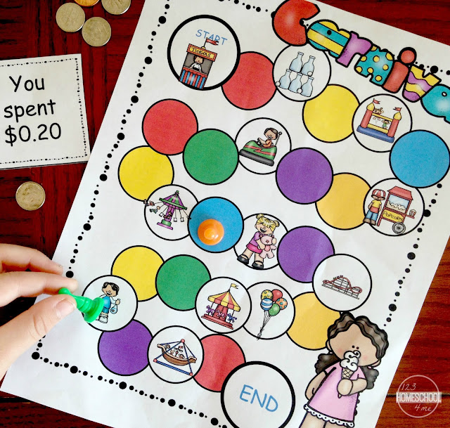 printable money games
