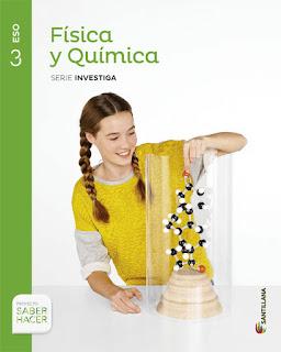 Libro Física y Química 3º ESO Santillana Proyecto Saber Hacer Serie Investiga