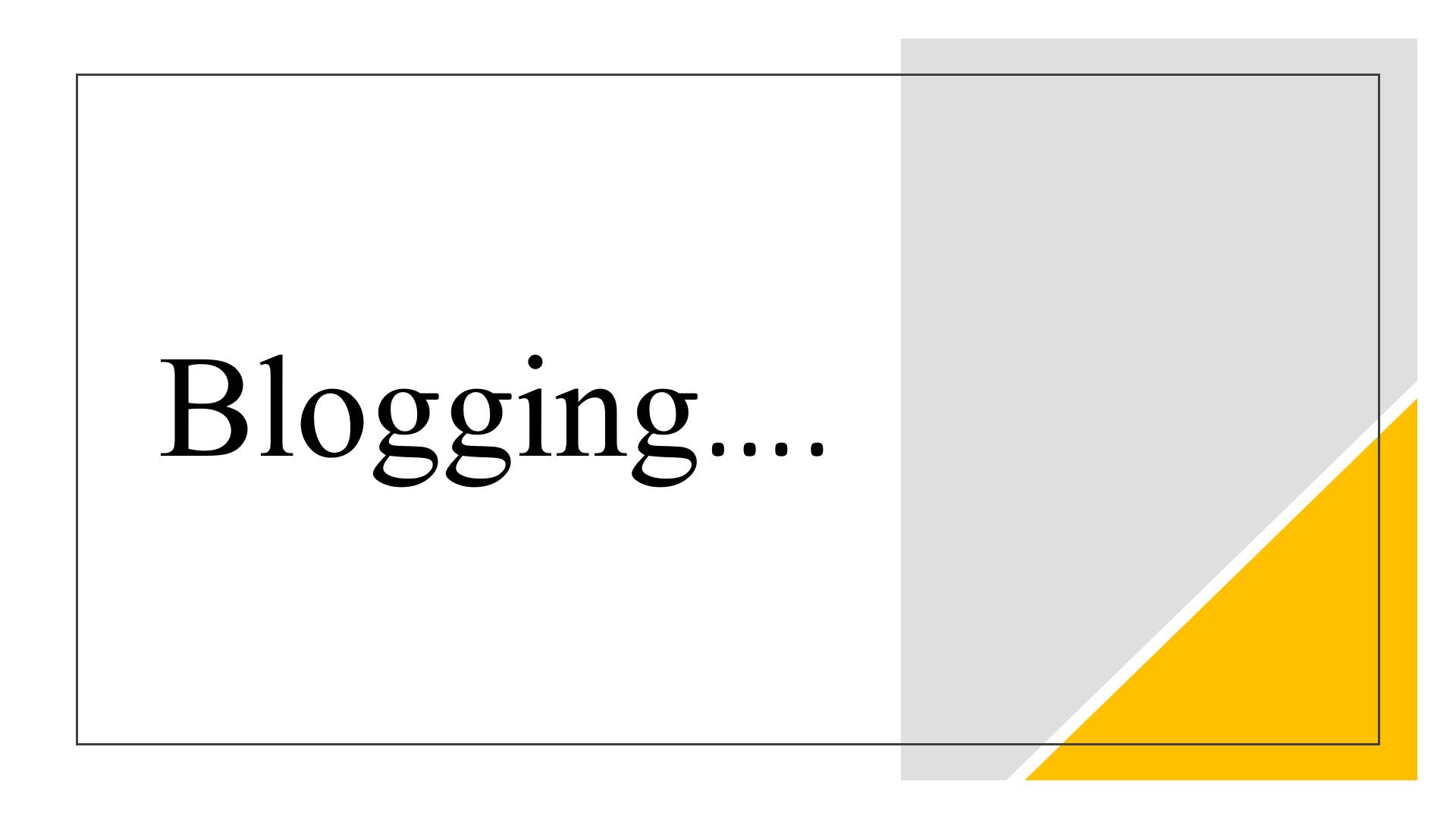 Can i make money using blogging