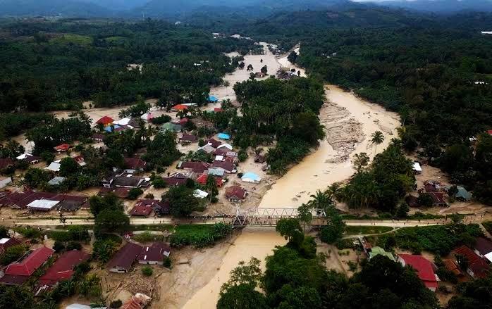 Banjir Bandang yang terjadi di Masamba, Luwu Timur