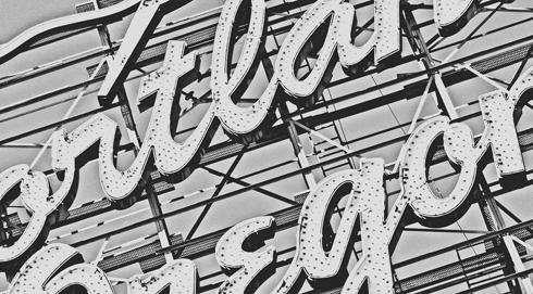 White Stag Portland Neon Sign
