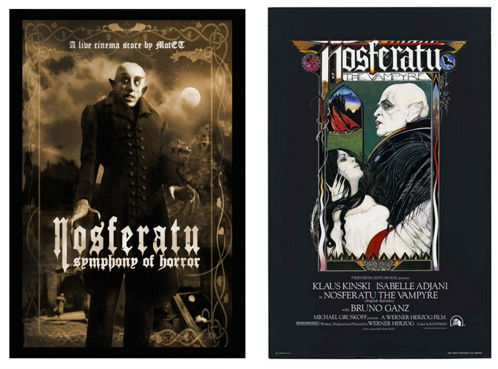 Classic Film & TV on DVD!: Nosferatu ~ Symphony of Horror