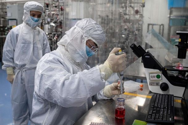 China company says its vaccine could be complete by 'autumn'