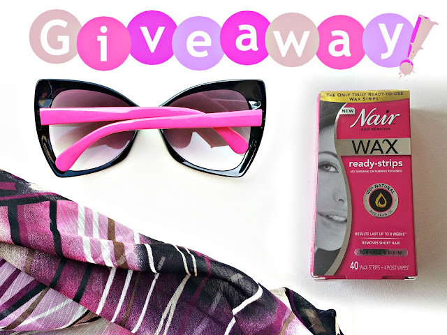 Win Tips Nair wax ready strips by top beauty blogger barbies beauty bits
