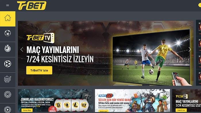 Kesintisiz Maç Yayınları İçin TrBet TV!
