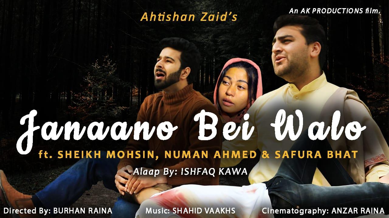 Ahtishan zaid Bhat - A struggling singer from Srinagar