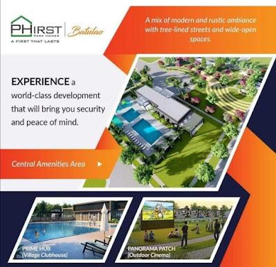 Phirst Park Homes Batulao Amenities