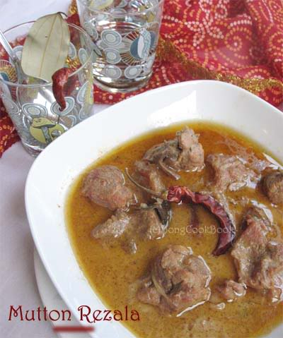 Mutton Rezala recipe