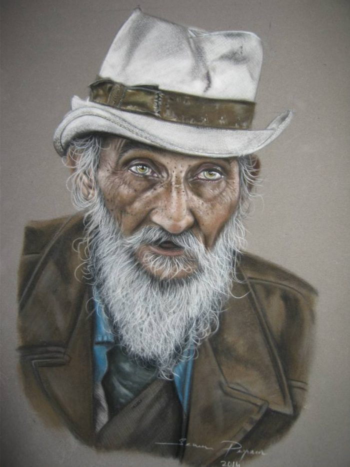 Турецкий художник. Sema Peyman