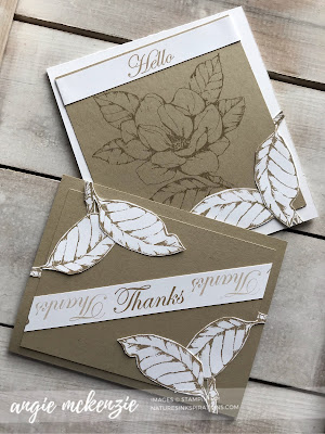 Simple Stamping with Good Morning Magnolia by Stampin' Up!® | Nature's INKspirations by Angie McKenzie