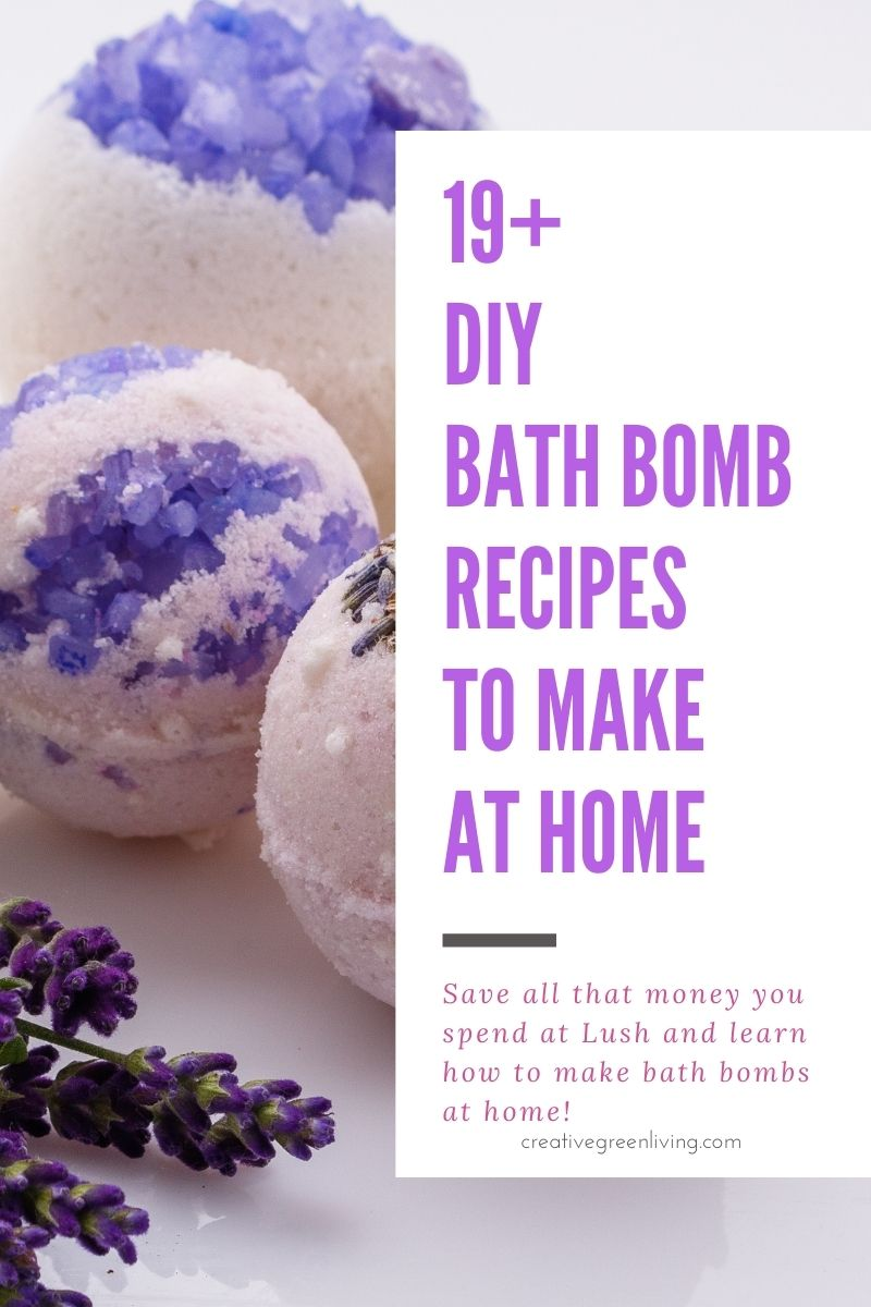 Best list of natural bath bomb recipes to make at home