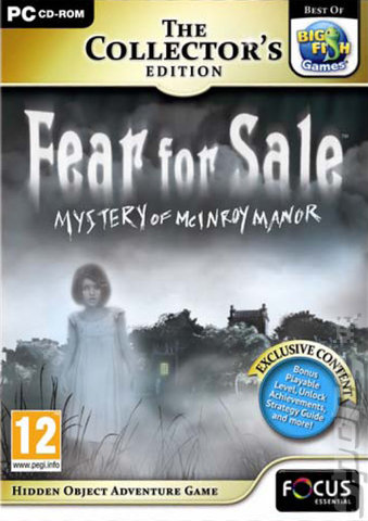 Gsp big fish ~various you choose~ post disc. System Requirements Fear For Sale Mystery Of Mcinroy Manor Collectors Edition System Requirements