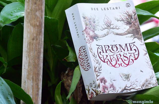 Novel Aroma Karsa - Dee Lestari/ Koleksi pribadi