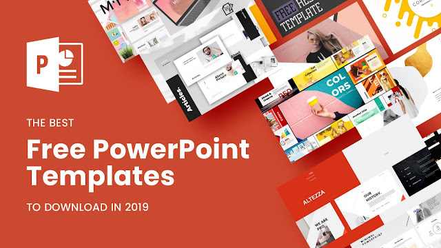 5 Template Power Point Responsive