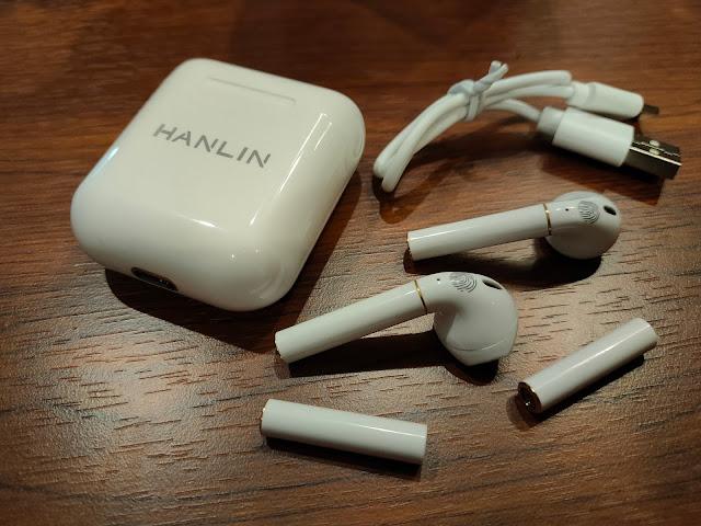 HANLIN 創新可換電池藍牙耳機, 超長的連續聽歌時間