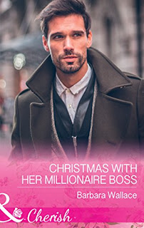 Christmas With Her Millionaire Boss by Barbara Wallace cover