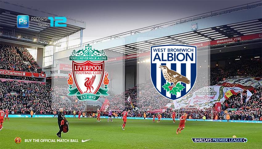 Prediksi Liverpool vs West Bromwich Albion