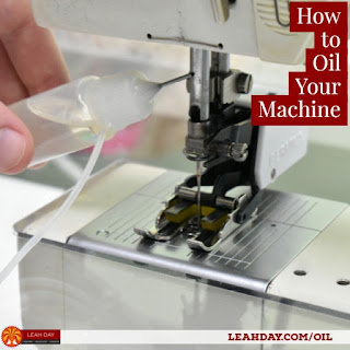How to clean and oil your sewing machine
