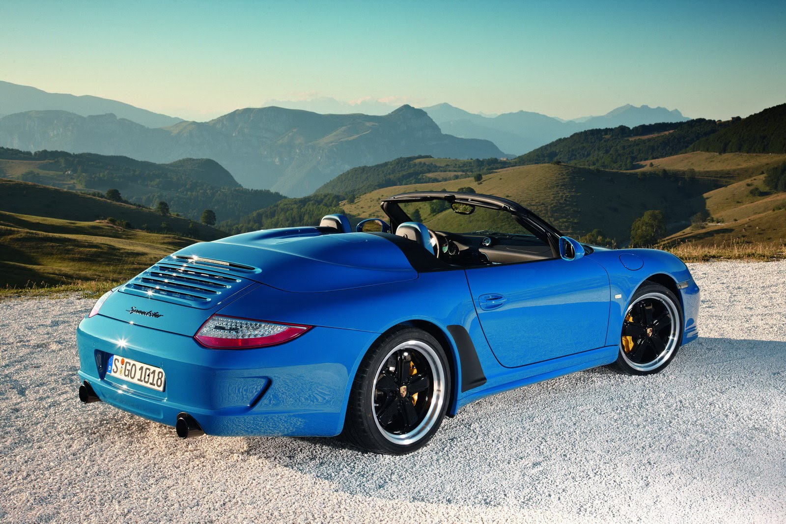 New Porsche 911 Speedster Could Debut In Frankfurt