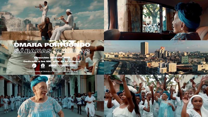 Omara Portuondo - ¨Sábanas blancas¨ - Videoclip - Director: Joseph Ros. Portal Del Vídeo Clip Cubano