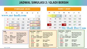 Ini Jadwal Simulasi 2 / Gladi Bersih SMP/Mts,SMA/SMK Tahun 2020