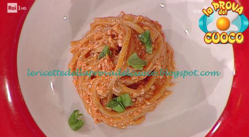 Strangozzi cacio e sugo ricetta Facchini da Prova del Cuoco