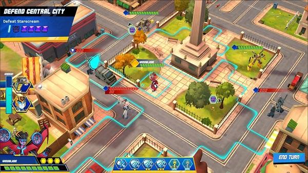 Free Download Transformers: Battlegrounds