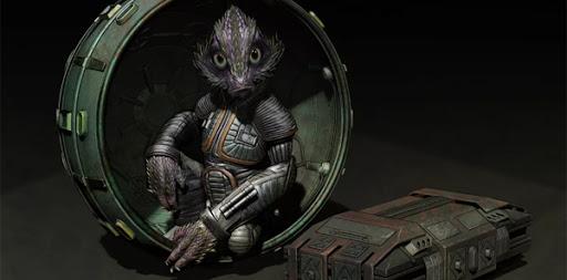 Babu Frik: Alien Version 01 by Martin Rezard.