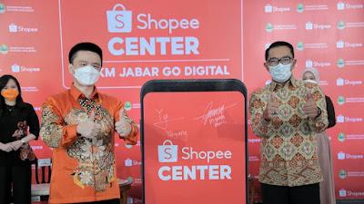 Jabar - Shopee Bangun UMKM Center di 5.312 Desa