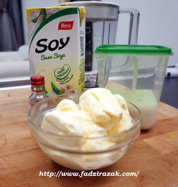 Resepi Soya Yeo's Milk Shake