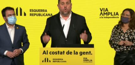 """Junqueras: """"El PSC tiene un larguísimo historial de corrupción""""."""