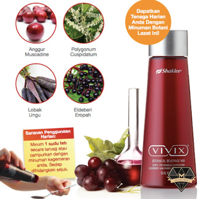 bahan utama vivix