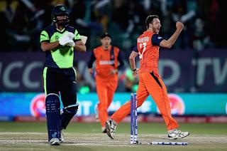Netherlands vs Ireland 11th Match ICC World T20 2016 Highlights