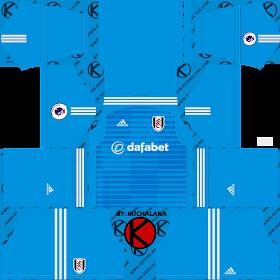 Fulham FC 2018/19 Kit - Dream League Soccer Kits