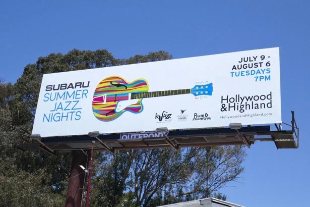 Sabaru Summer Jazz Nights billboard