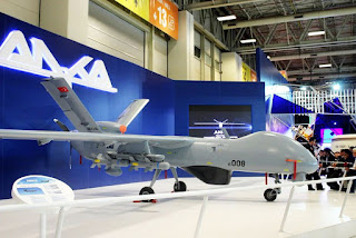 UAV Anka Buatan Turkish Aerospace Industries