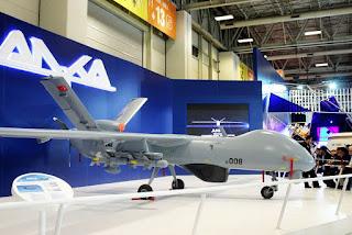 UAV Anka Buatan Turkish Aerospace Industries