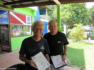 Testimonial by Denis of the January 2016 PADI IDC on Koh Lanta, Thailand