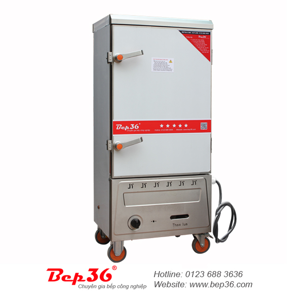 Tủ nấu cơm gas điện 8 khay tại Thanh Hóa