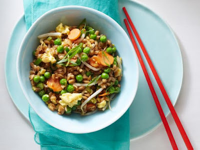 "Healthy Farro Fried ""Rice"""