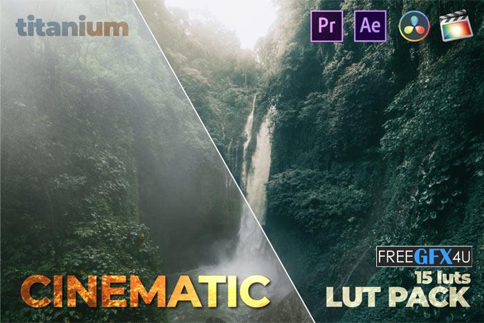 Titanium Cinematic LUT Pack (15 Luts)