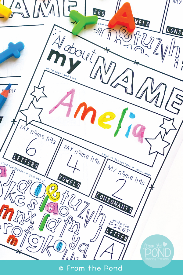 STUDENT NAME ACTIVITIES
