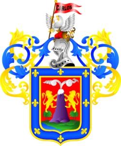 Dibujo del Escudo de Arequipa a colores